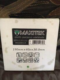 Maxitek Saw Blade..