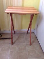 Basic Wooden Folding Table