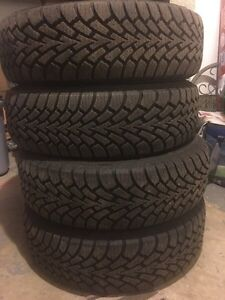 4 BRAND NEW GOODYEAR NORDIC WINTER TIRES Kitchener / Waterloo Kitchener Area image 2