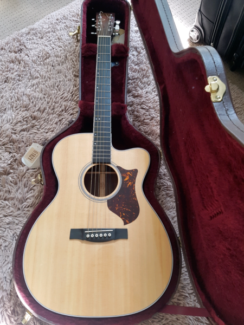 Martin Acoustic with Fishman OMCPA3