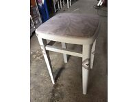 Beauty stool extra seat chair around dinning table