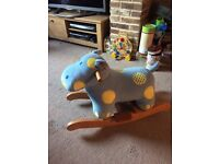 Cute horse/donkey rocky/ride on for kids