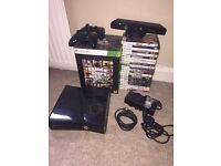 Xbox 360 Slim 250GB With Kinect & 23 Games