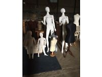 Job lot of mannequins