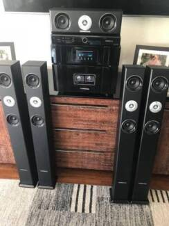 Commercial R Series Sound system and speakers
