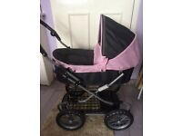 Childs silver cross dolls pram for sale