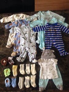 Gently used  newborn baby boy bundle Edmonton Edmonton Area image 1