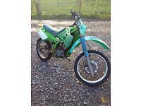 Kawasaki kdx 125 field bike spares or repair