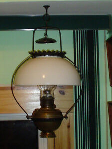 hanging oil lamp Windsor Region Ontario image 1