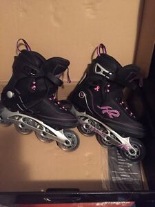 Women's rollerblades used once