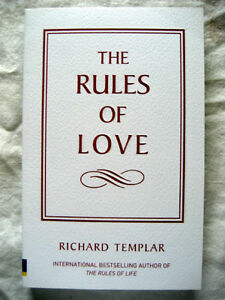 NEW !!! The Rules of Love London Ontario image 1