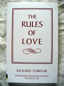 NEW !!! The Rules of Love