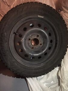 15 inch hankook I pike tires with rims
