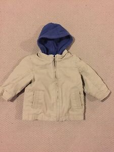 EUC size 12-18 month gap double layer spring jacket