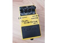 Boss SD-2 Dual Overdrive pedal