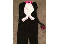 Cat Halloween Costume - Size 11 - 13 years