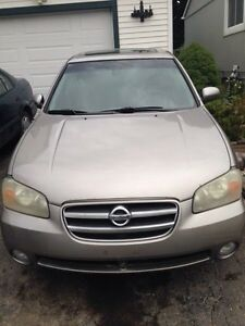 02' NISSAN MAXIMA ( whole car or parts )
