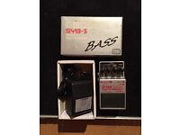 Boss Bass Synthesizer SYB-5 with Box & Boss Power Supply