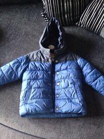 Next boys coat £5. 2-3 years