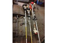 Stilhl strimmers and Chinese long reach hedge trimmer ( spares or repair)