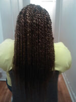 tresses africaines ET coiffure glamour