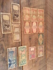 Old world paper money