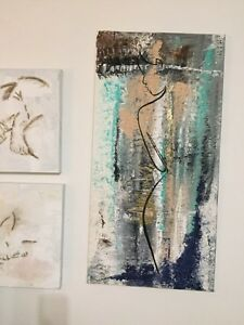 Original acrylic paintings different sizes