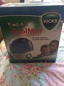Vicks Paediatric Mini Ultrasonic Humidifier