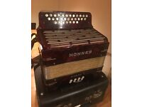 Vintage Hohner Norma I Accordion