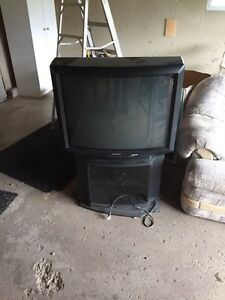 36 Sony tv with stand