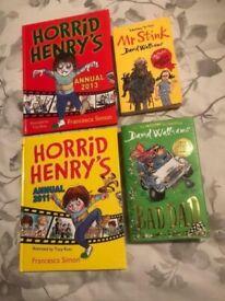 Horrid Henry (2) : Bad Dad and Mr Stink.