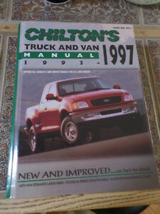 Chilton Truck and Van Manual 1993-1997