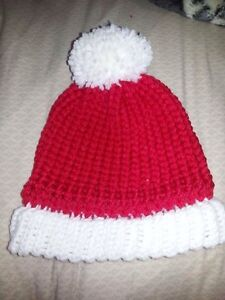 Knit toques and headbands