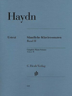 Haydn Complete Piano Sonatas Volume III Sheet Music Piano Solo Book 051480242