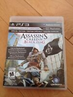 Assassin's Creed 3 et 4 (ps3)