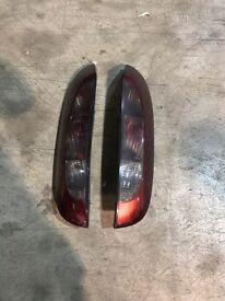 Vauxhall corsa rear light clusters