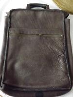 Mens Leather Satchel YKK zipper - Fabulous