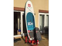 2016 Red Paddle Co 10'6 stand up paddle board