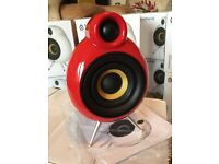 Scandyna Micropod SE stereo Speakers Minipod B&W Blueroom bigpod