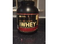 Optimum whey gold standard protein 2.2kg £35