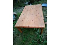 Large! Pine coffee Table