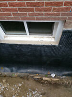 WET LEAKY BASEMENT??CALL FOR A FREE ESTIMATE!!!
