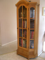 From Germany - China cabinet - also makes a great bookcase!