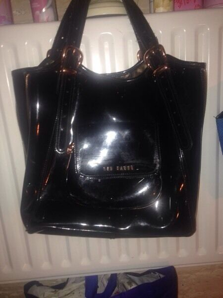 Real ted baker black bag