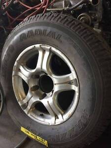 6 Stud wheels and tyres suit holden isuzu ford mazda mitsubishi Nerang Gold Coast West Preview