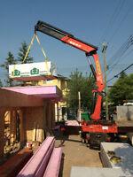 Crane Truck Deliverys