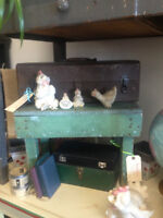Antique Fishing Tackle Box