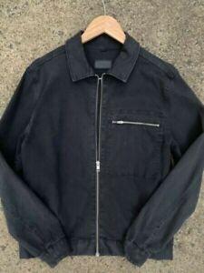 Saba mens black denim jacket - RRP $279