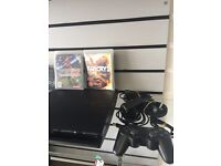 PS3 500gb 4 games mint condition