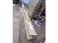 Steel h girder metal beam lintel industrial 274cm